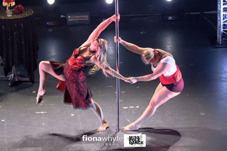 Nicola Burke Miss Pole dance UK